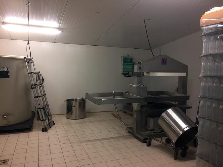 photo du labo à jus