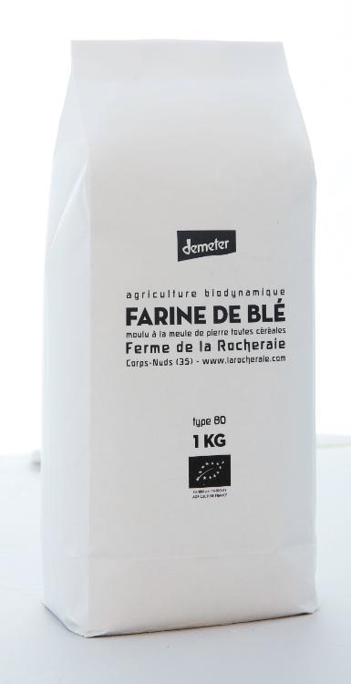 farine de blé T80 1 kilo