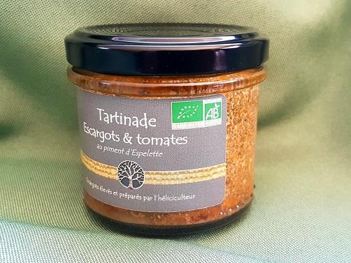 Tartinade Escargots - Tomates & Piment d'Espelette