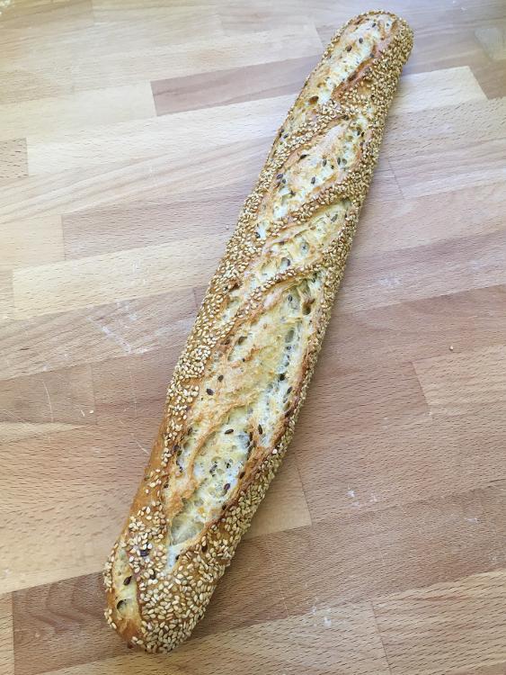 Baguette aux céréales 250g