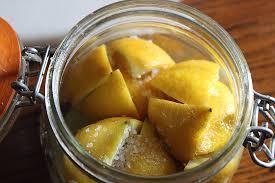 Citrons confits (lactofermentés)