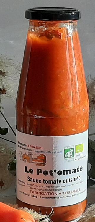 Grande sauce de tomate cuisinée
