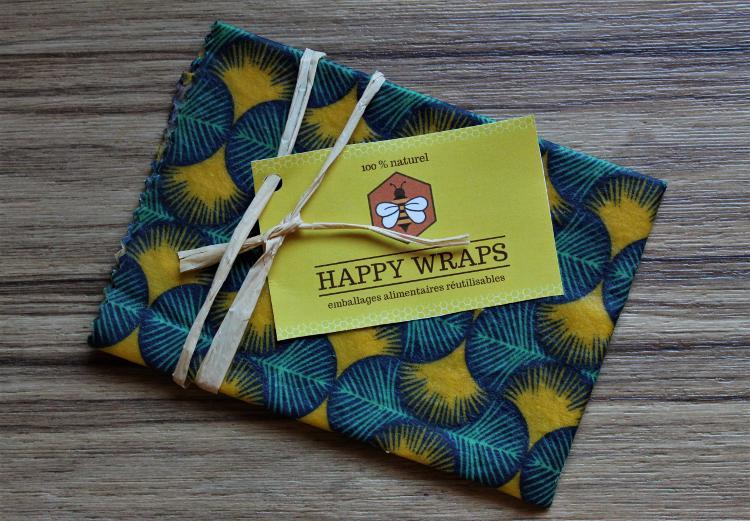 Happy wrap L 37x34 cm