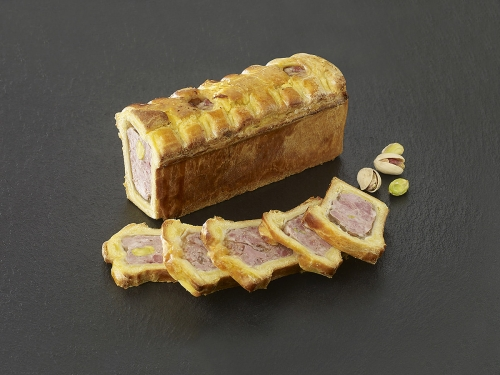 Mini pâté en croute pistache
