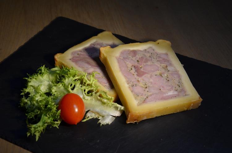 Pâté en croute pistache