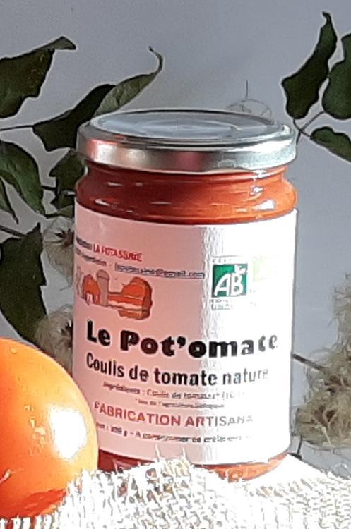 Petit coulis de tomate nature