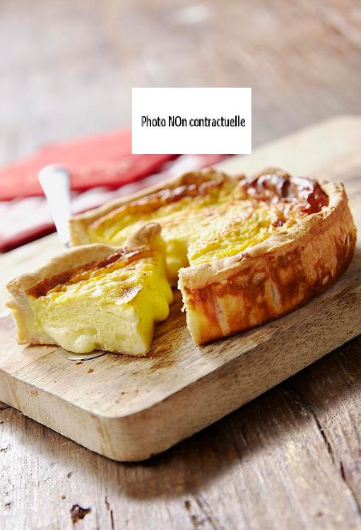Tarte pommes de terre et lardons 3/4 pers BIO