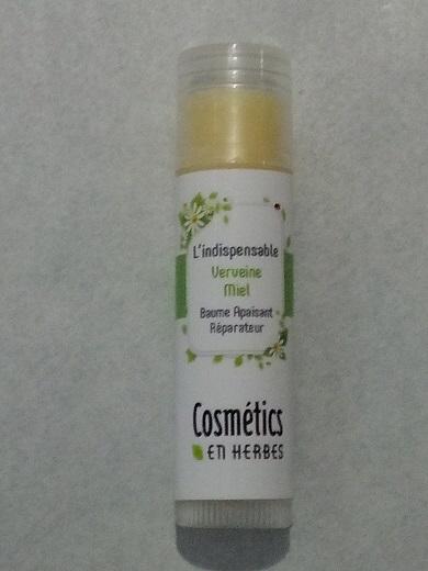 L'indispensable Verveine Miel Stick lèvres 5g