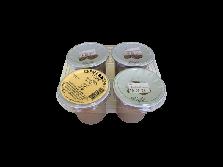 Crème dessert au café 4x125g