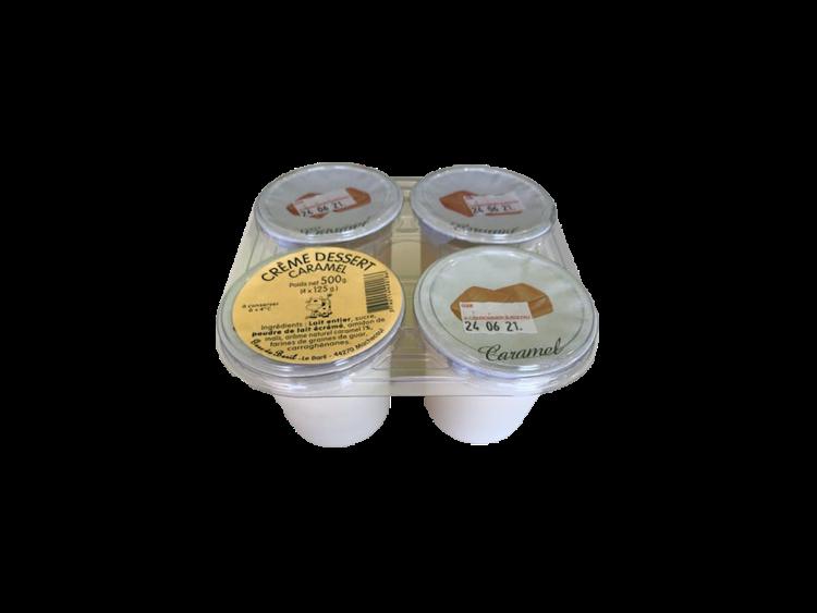 Crème dessert au caramel 4x125g