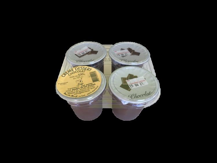 Crème dessert au chocolat 4x125g