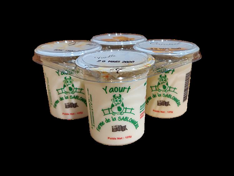 Yaourts vanille et caramel 4x125g