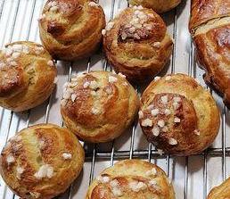 Chouquettes épeautre au sucre (par 10)