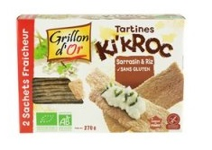 Tartines Ki'kroc sarrasin et riz