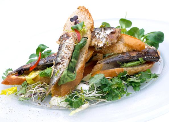 Sardines à l'huile d'olive bio et piments