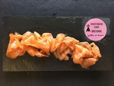 Truite fumée bio de Bretagne (3 tranches)