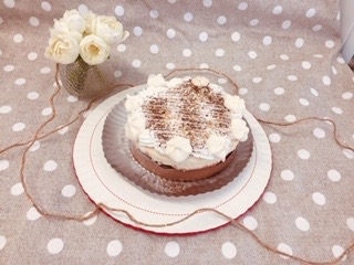 Vacherin poire/ chocolat