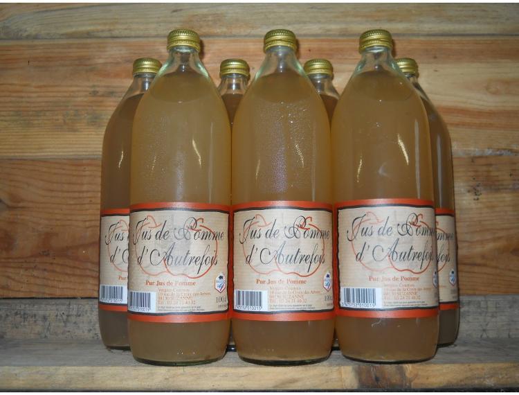 carton Jus de pomme - 6 x 1 litre