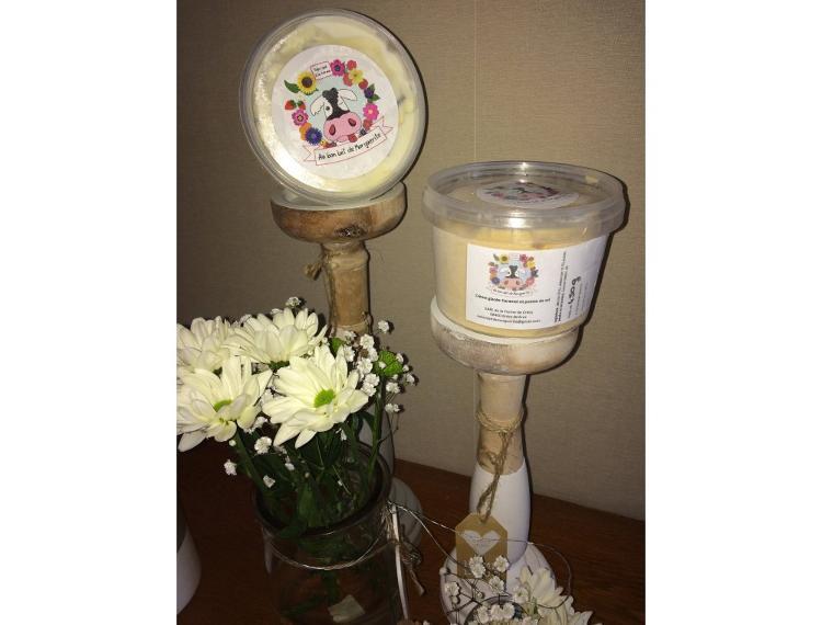 Crème Glacée Caramel et sa pointe de sel