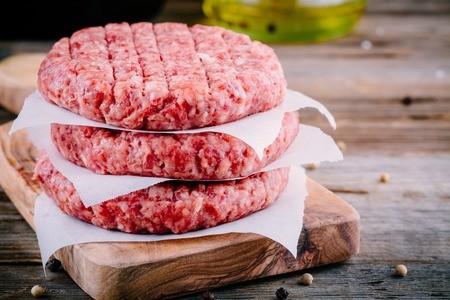 Steaks hachés par quatre - Blonde d'Aquitaine