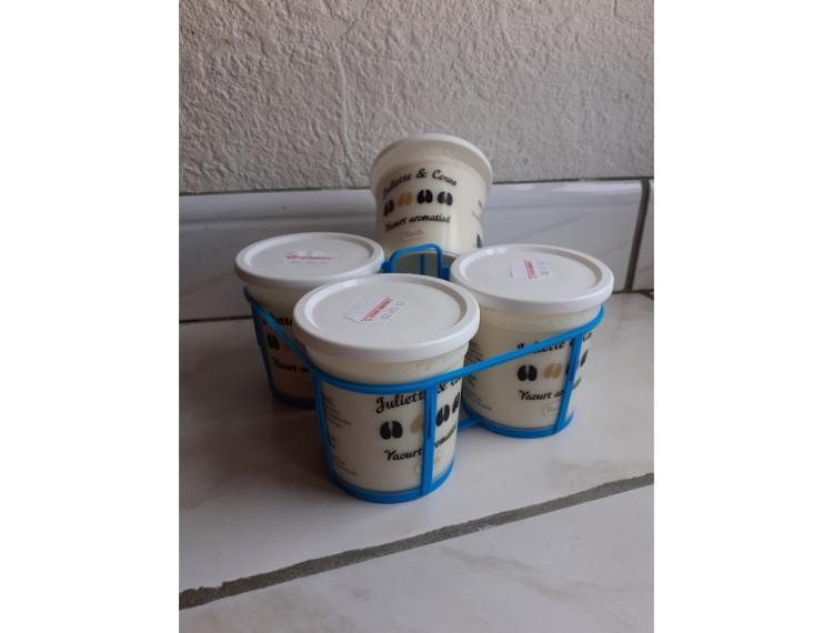 Lot de 4 aromatisé vanille