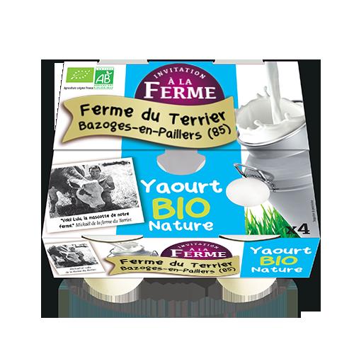 Yaourt Bio Nature 4x125g