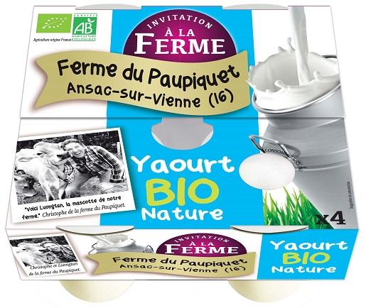 Yaourt Nature 4x125g