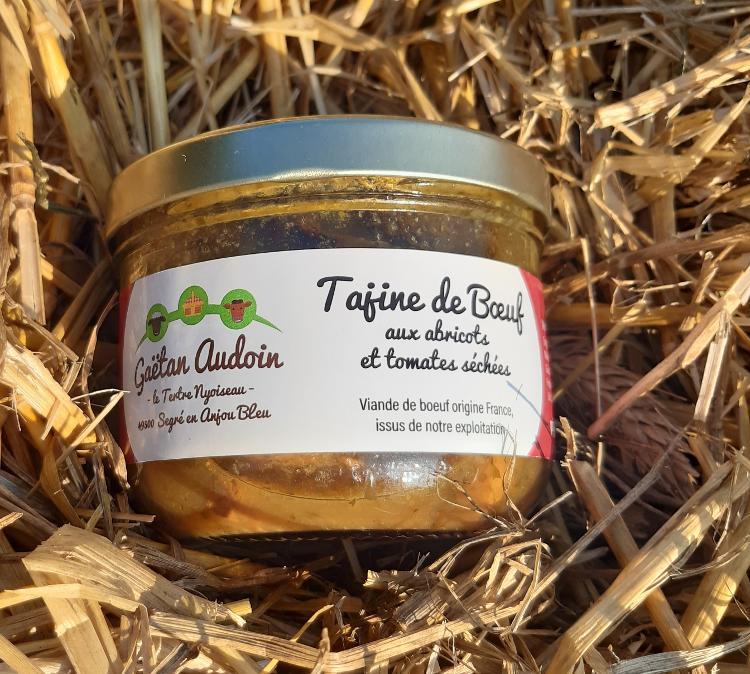 Tajine de Boeuf Abricots et Tomates sechées