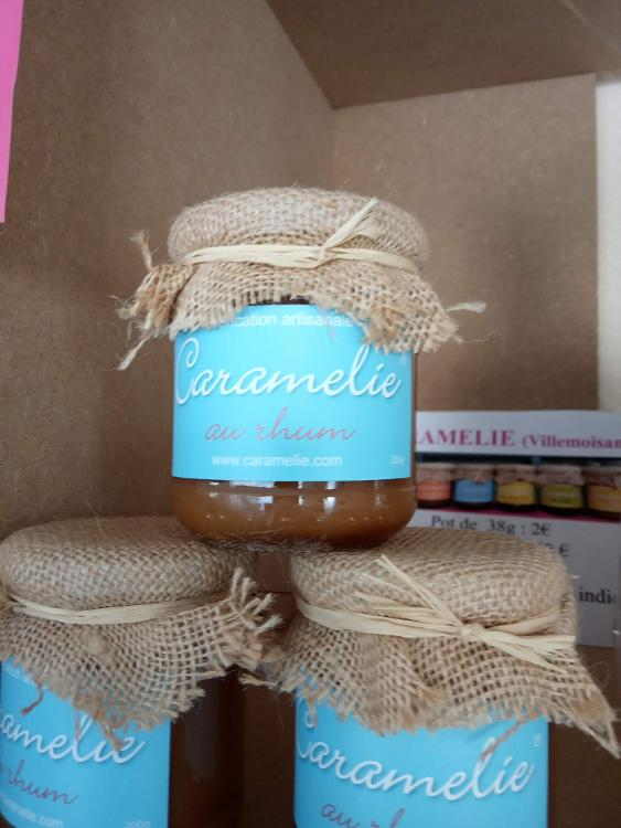 Caramel rhum - 200 gr