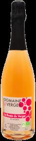 """La rosée du verger """"fines bulles"""" rosé"""