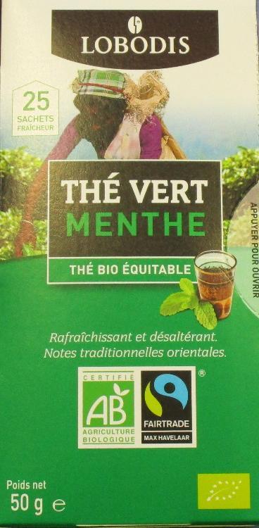 Thé Vert Menthe Bio et Equitable