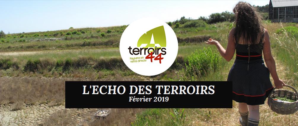 Le Journal de Terroirs 44 : L'ECHO DES TERROIRS !