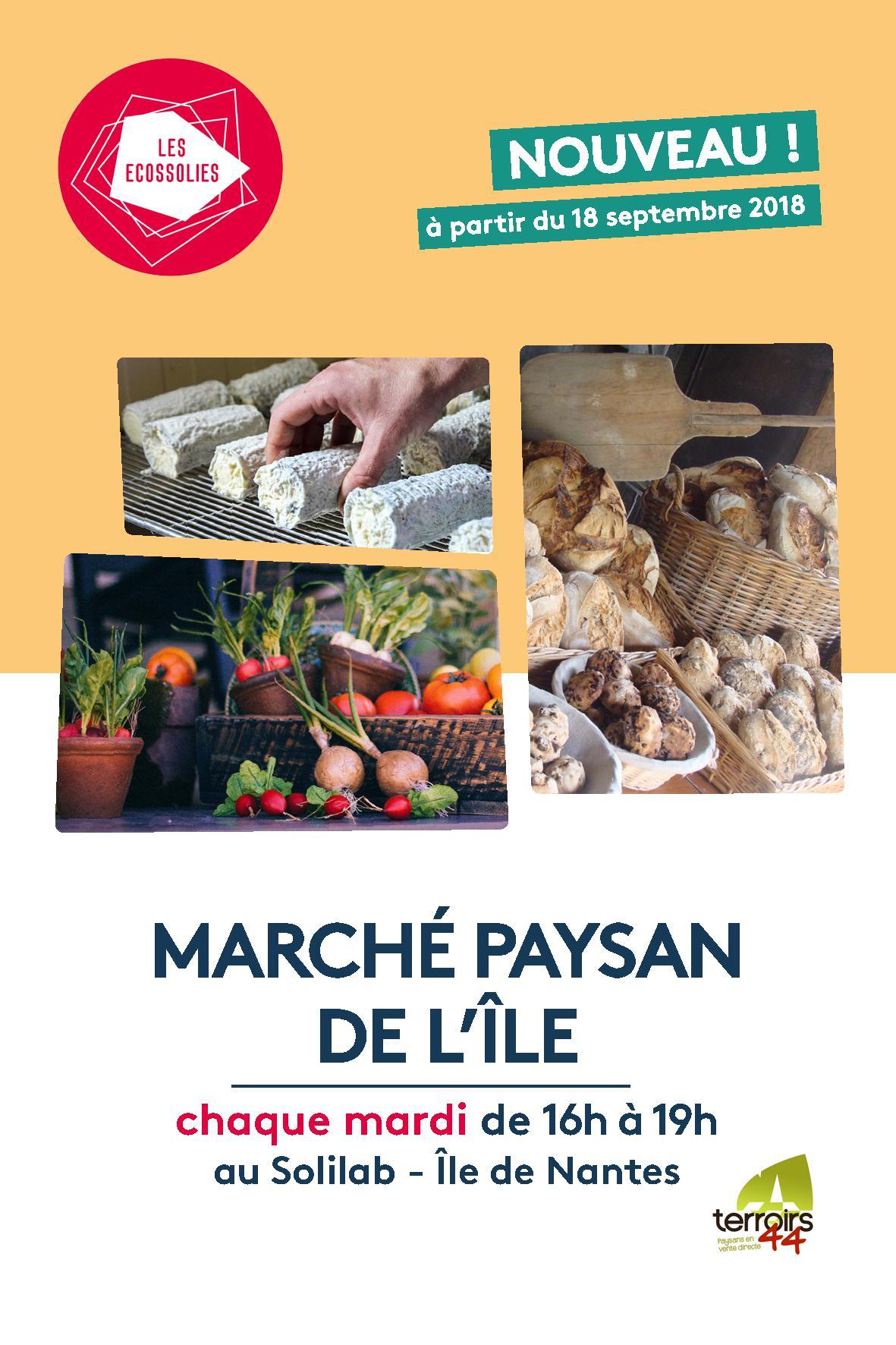 LANCEMENT du MARCHE PAYSAN DE L'ÎLE !