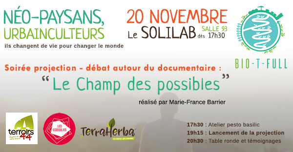 PROJECTION-TABLE RONDE 20 novembre Solilab