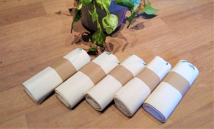 100 sacs compostables Vépluche