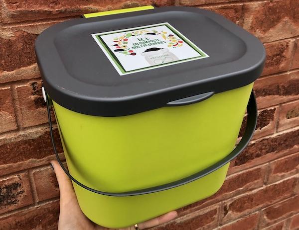 Bioseau à déchets organiques - 5L