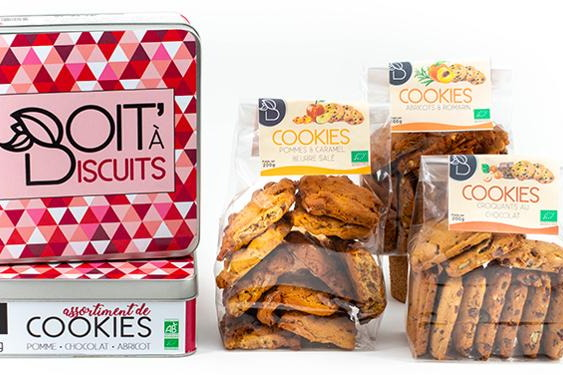 Cookies pommes/caramel