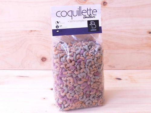 Pâtes Coquillette multicolore 500g