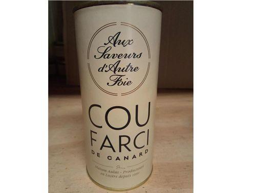 Cou farci (10 % foie gras) 350 g