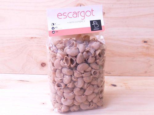 Pâtes Escargot nature 500g