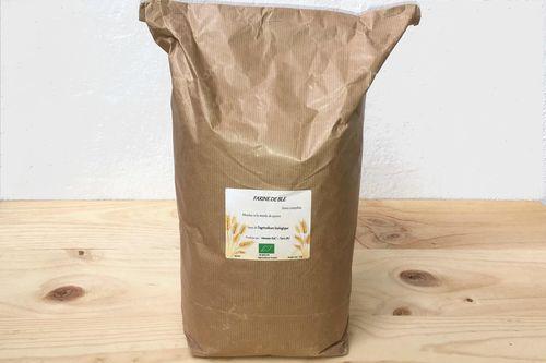 Farine de blé semi-complète - 5 kg
