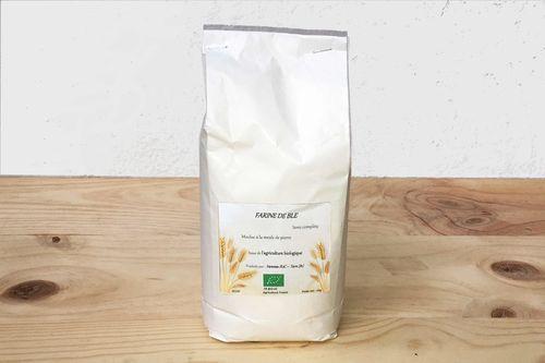 Farine de blé semi-complète - 1 kg