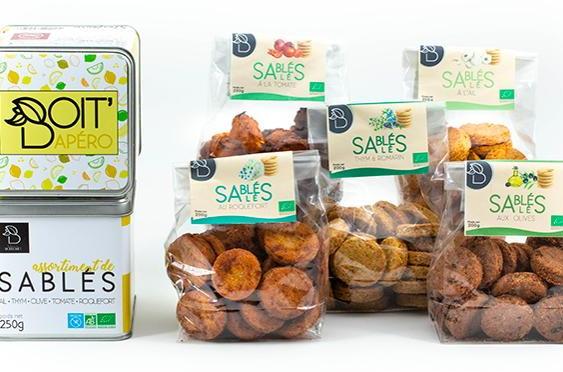 Biscuits sablés salés au roquefort