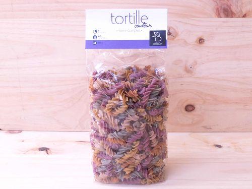 Pâtes Tortille multicolore 500g