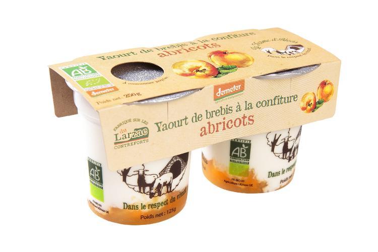 YAOURT - Brebis abricot