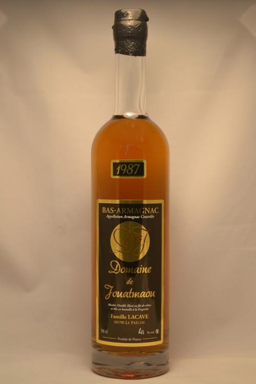 Armagnac 1987 50 cl du Domaine de Jouatmaou