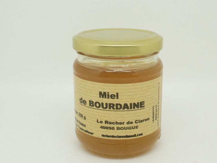 Les Ruchers de Claron - Miel de BOURDAINE 250 GR