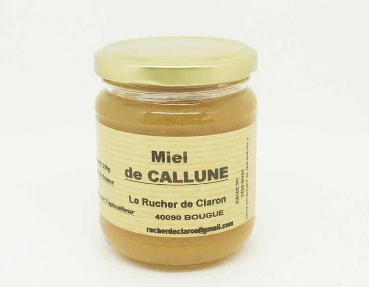 Les Ruchers de Claron - Miel de CALLUNE 250 GR