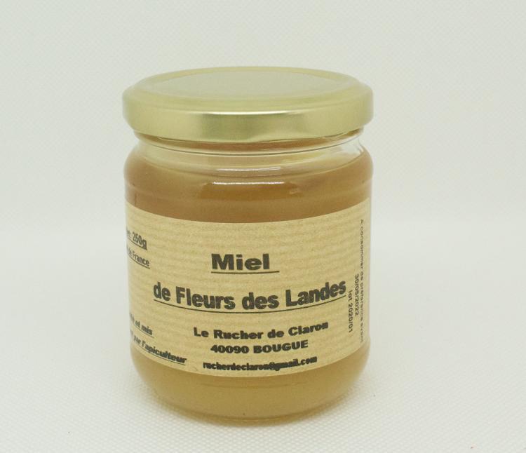Les Ruchers de Claron - Miel de FLEURS 250 GR
