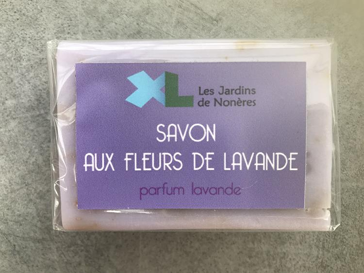 Savon - Fleurs de lavande parfum lavande
